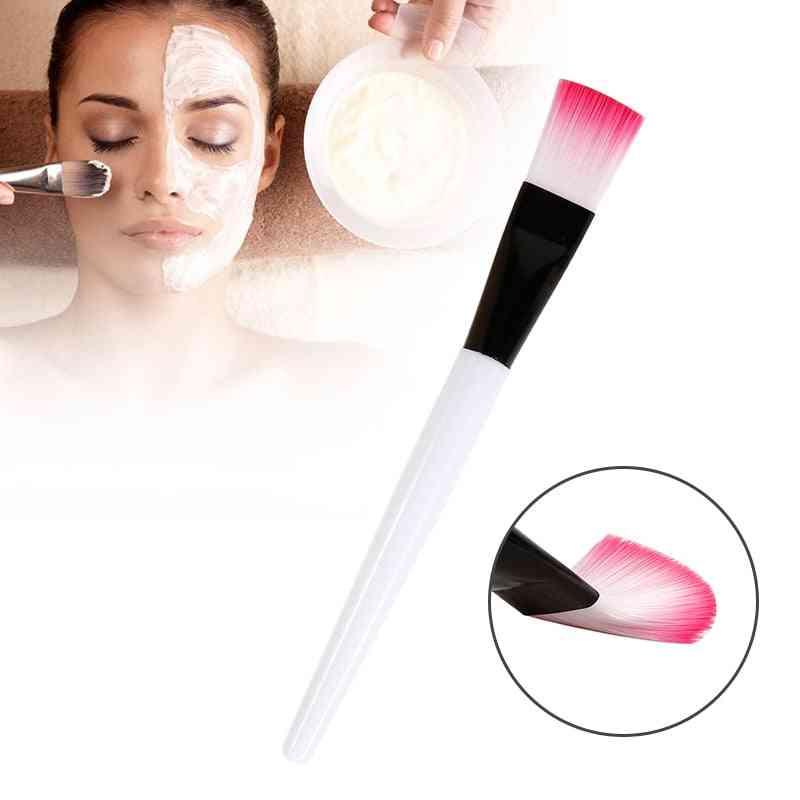 Makeup Brushes Soft Hair Mask Brushes - Foundation Mud Mixing Brush For Cosmetic Make Up