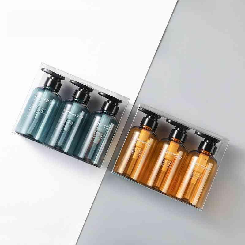 Portable Liquid Dispenser Bottles For Soap, Hand Sanitizer, Cosmetics, Shampoo And Body Wash