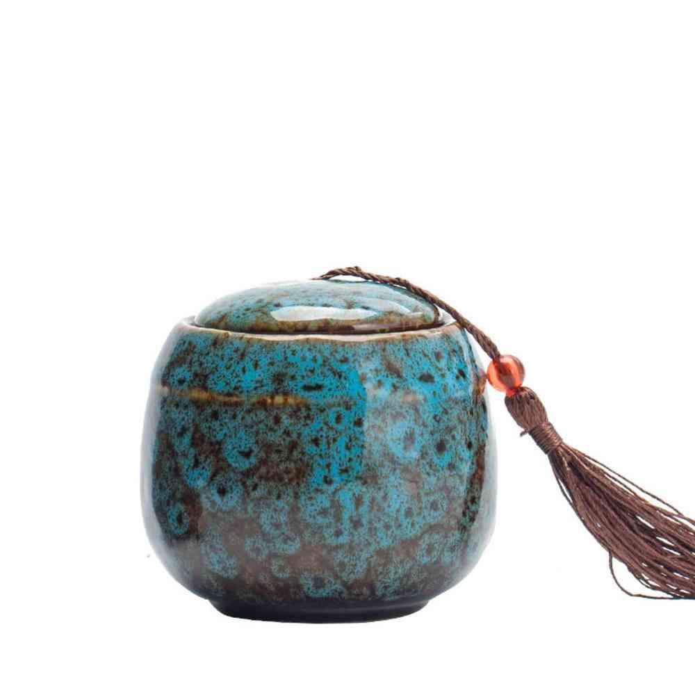 Ceramics Pet Caskets Urns - Pet Memorial Urn Bird Ashes Holder