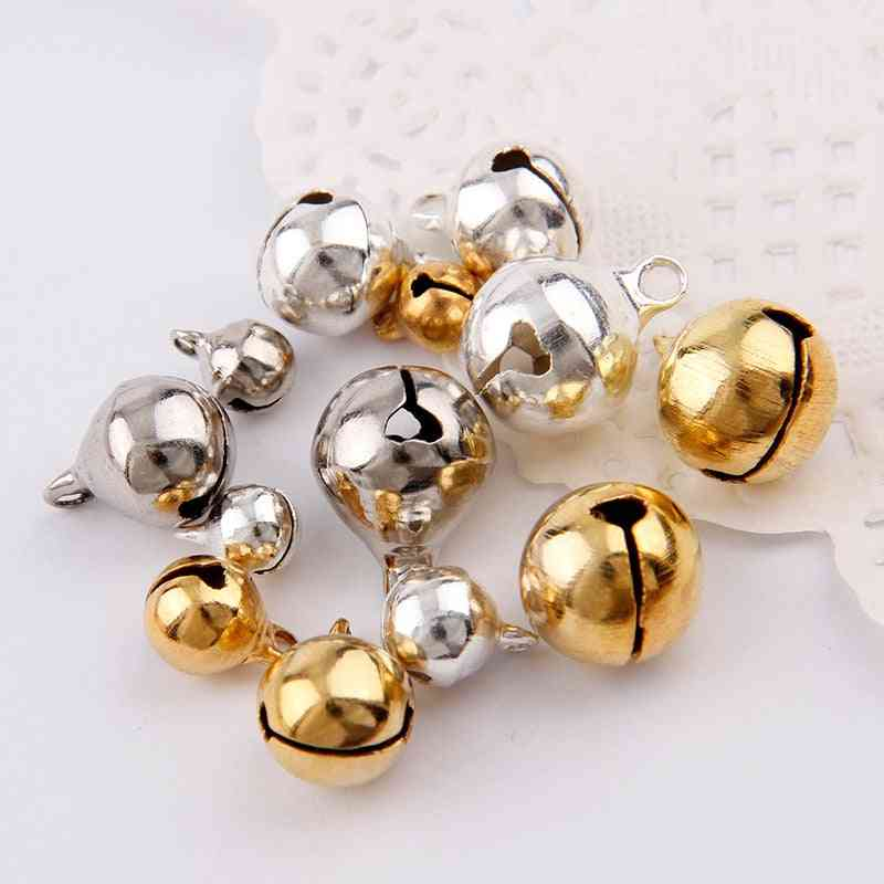 Copper Jingle Bells Pendants Hanging Christmas Ornaments - Christmas Decorations Party Diy Crafts Accessories