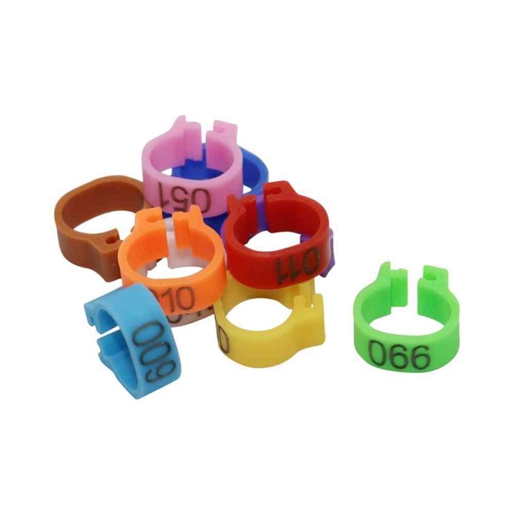 Pigeon Leg Poultry Dove Bird Parrot Clip Rings Band Foot Ring Pigeon Supplies Bird Appliances