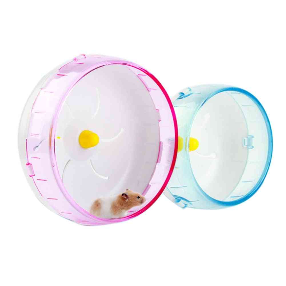 Pet Hamster Running Disc Toy Silent Rotatory Jogging Sports Wheel Cage Accessories