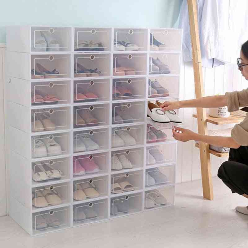 Foldable, Diy Shoe And Home Storage Box