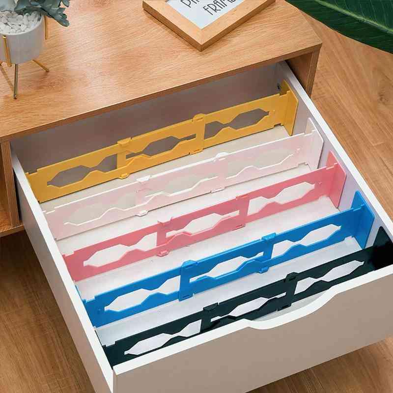 Adjustable Retractable Drawer Dividers Organiser Partition Board