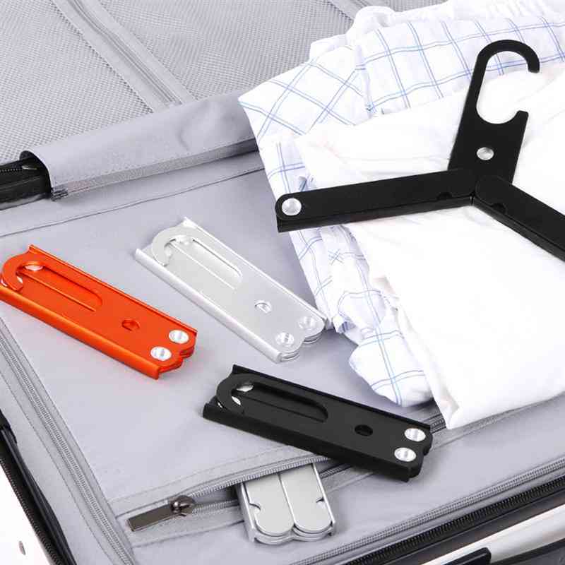 Foldable Portable Clothes Hangers For Travel & Business Trip