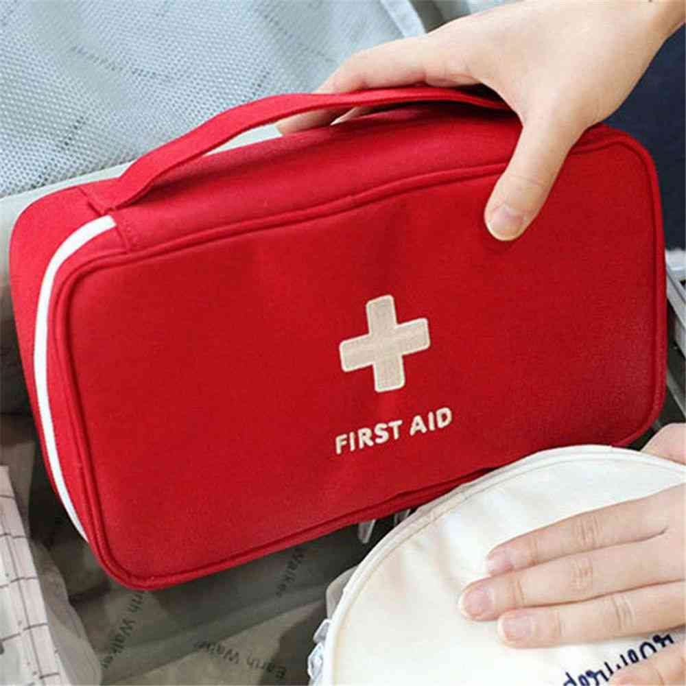 Waterproof And Portable First Aid Bag Emergency And Outdoor Travel