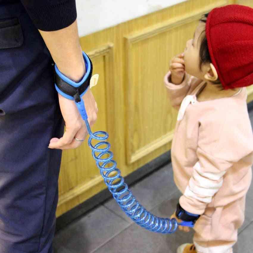Kids Safety Harness-anti Lost, Wrist Spiral Bracelet