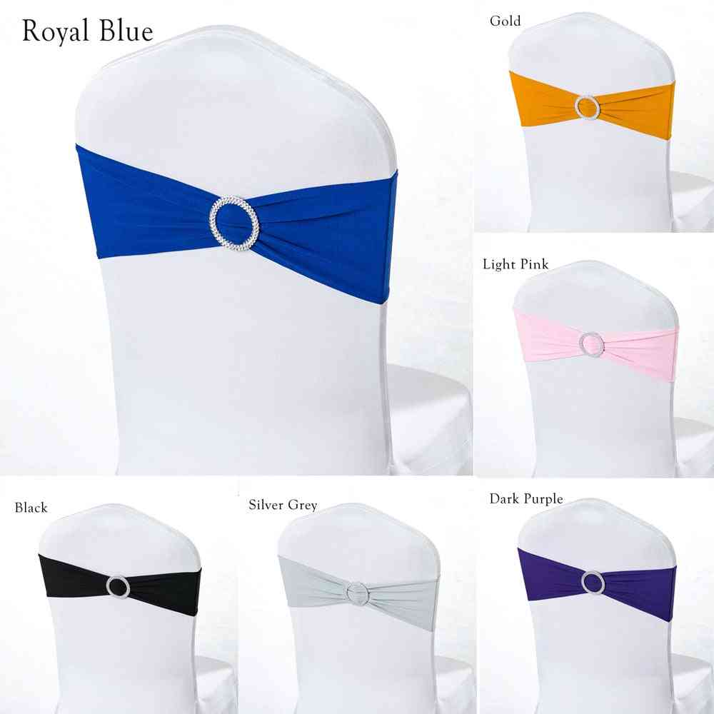 Wedding Chair Cover - Sash Bands For Party / Birthday / Wedding Decoration