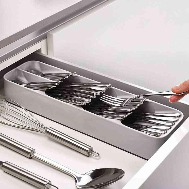 Kitchen Cutlery Utensils Organizer Tray/storage Drawer