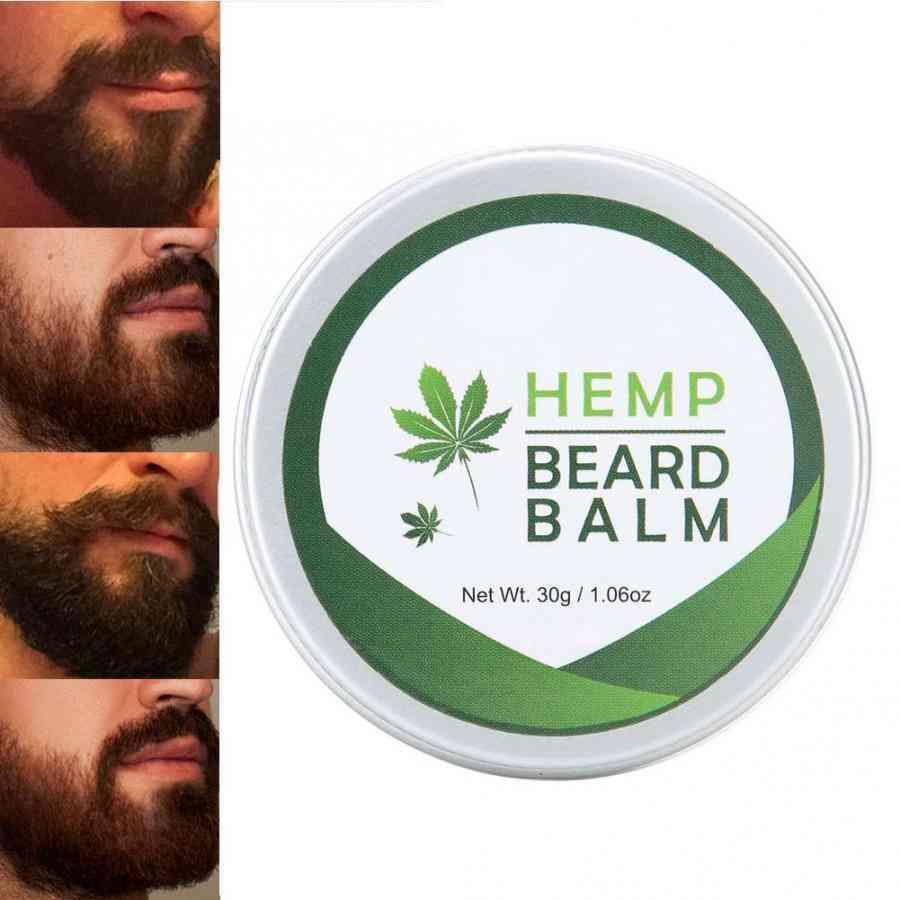 Moisturizing Beard Balm Nourishing Smooth Lasting Fragrance Cream For Male