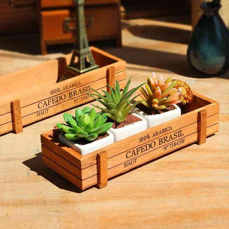 Classic Antique Wooden Storage Boxes/table Sundries Container - Cosmetics Organizer, Wooden Jewelry Storage Box