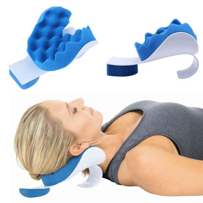 Neck And Shoulder Relaxer-electric Pillow Vibrator, Infrared Therapy