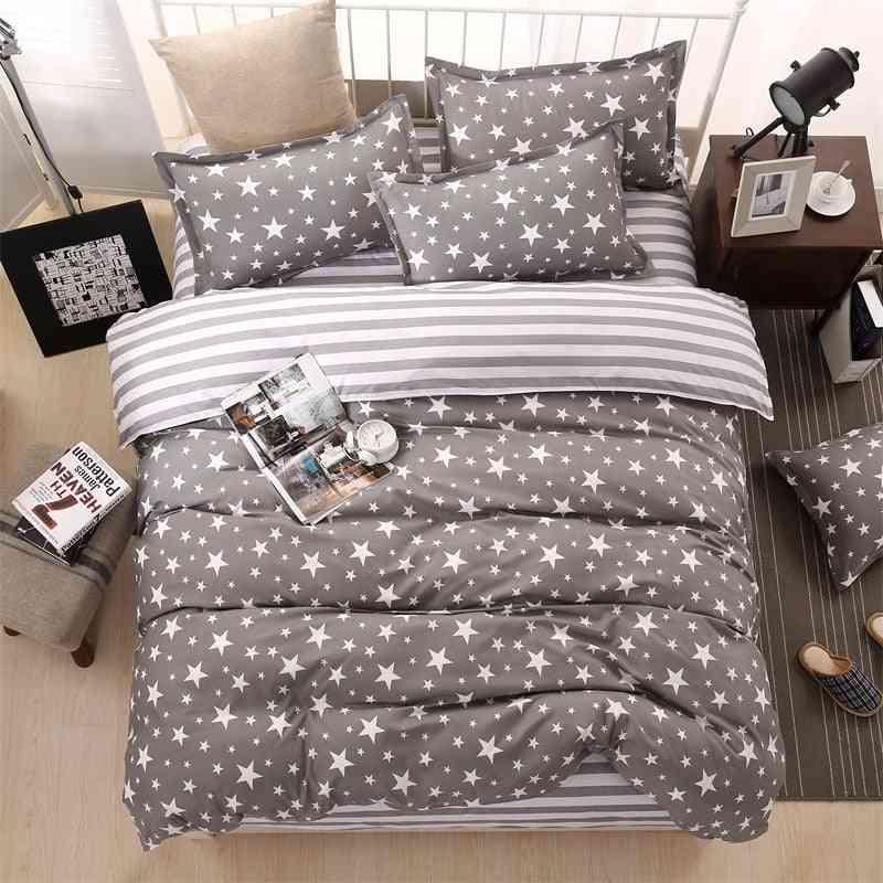 Classic Bedding Set - Duvet Cover Flower Bedsheets