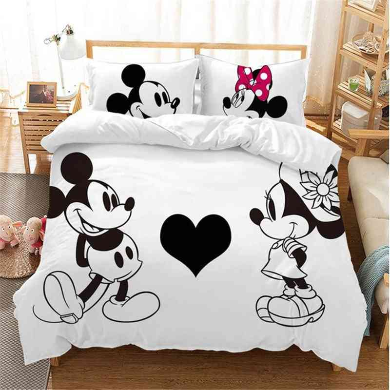 Disney Black And White Mickey Minnie Mouse Bedding Sets For &