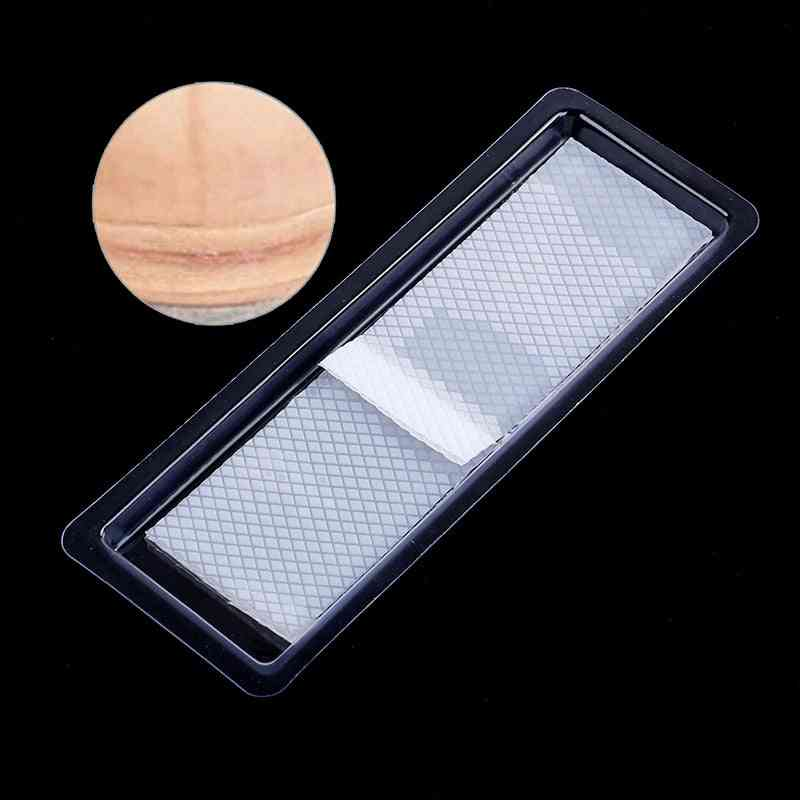 Reusable Surgery Scar Removal Silicone Gel Sheet - Therapy Patch For Acne, Trauma, Burn Skin Repair