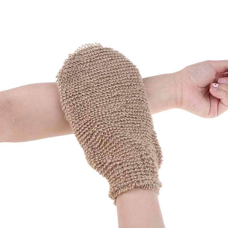 Exfoliating Skin Wash Foam Glove For Back Massage ,shower Scrubber For Body Cleaning