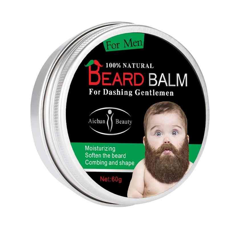 Natural Organic Beard Balm For Growth