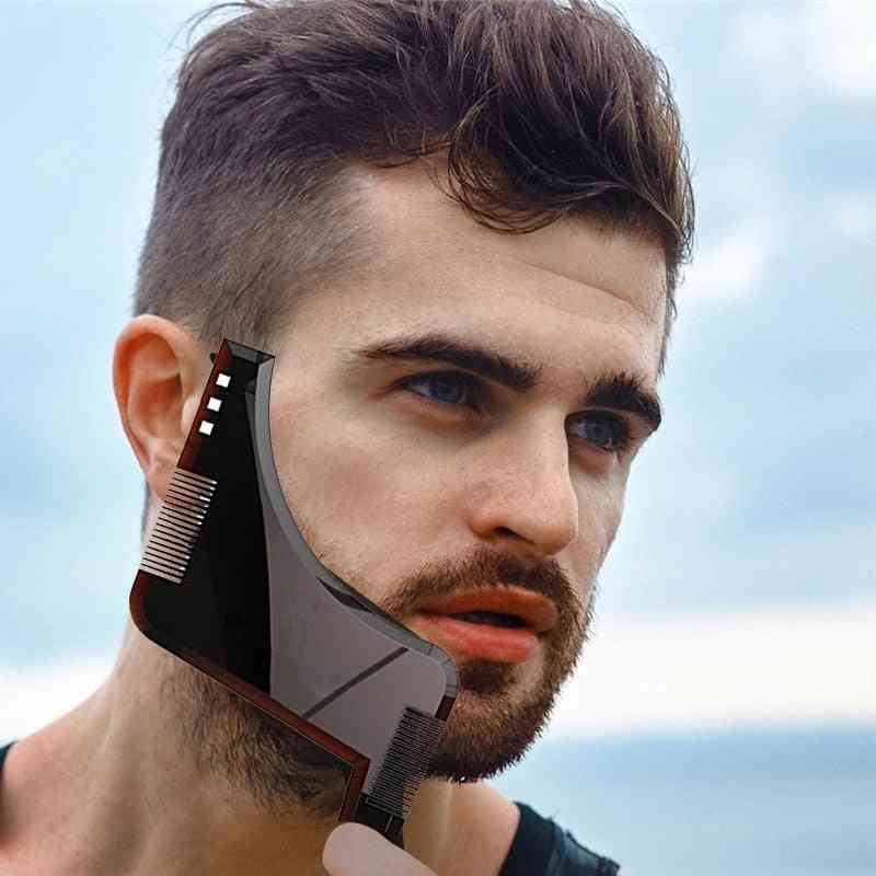 Beard Shaping Template Comb With Double Sided Styling