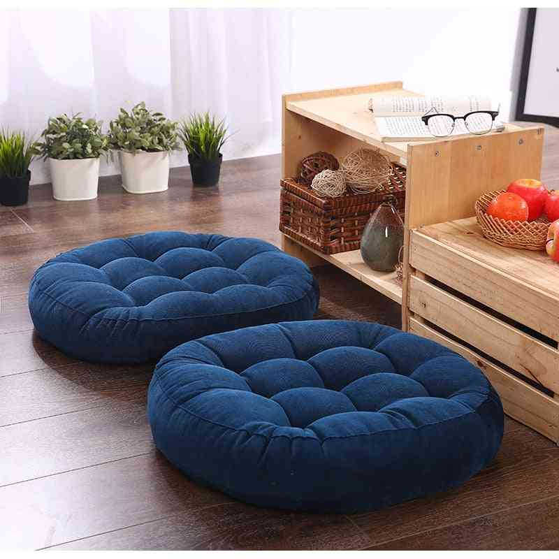 Round Shape, Soft Cotton, Floor Seat Cushion For Home