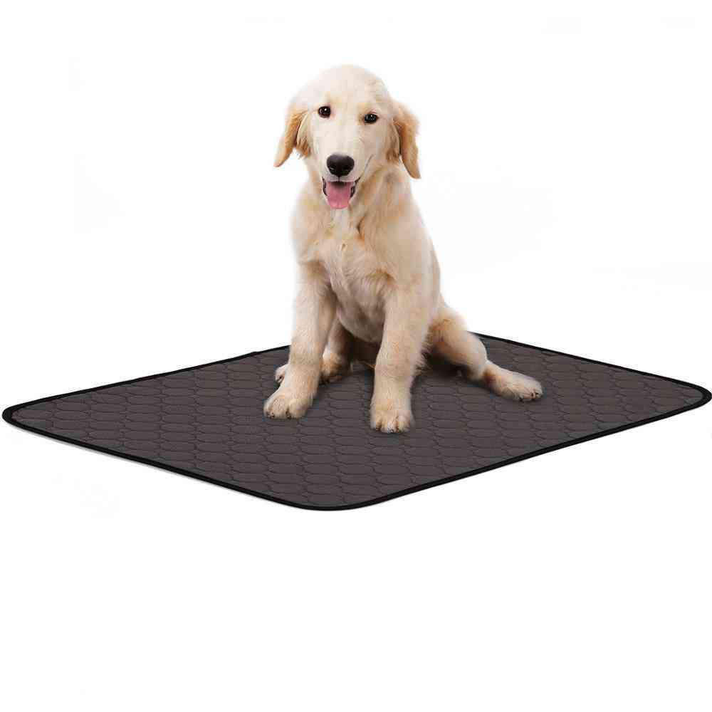 Washable, Waterproof And Reusable Absorbent Mat For Pets Toilet Trainning