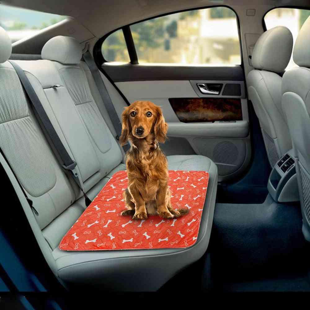 Pets Bed Mat, Waterproof Reusable Urine Pad