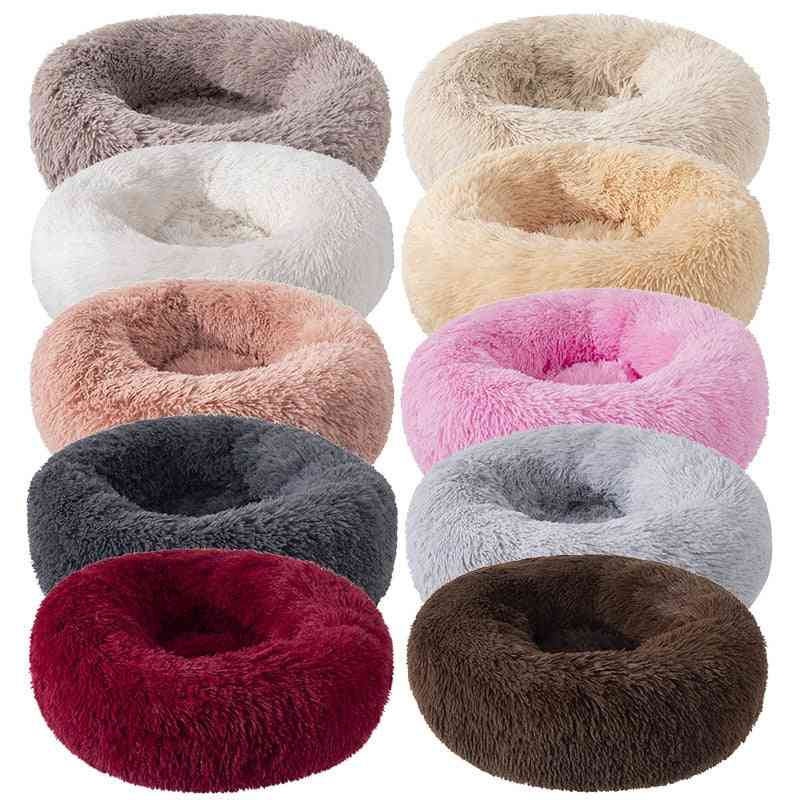 Round Shape, Super Soft Bed For Pets