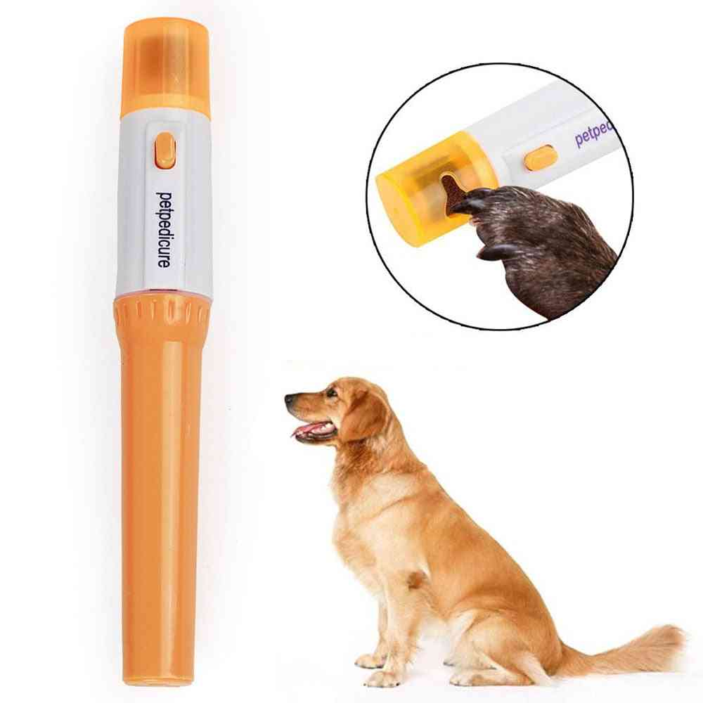 Dog Nail Grooming Grinder Trimmer Clipper -portable Electric Tool