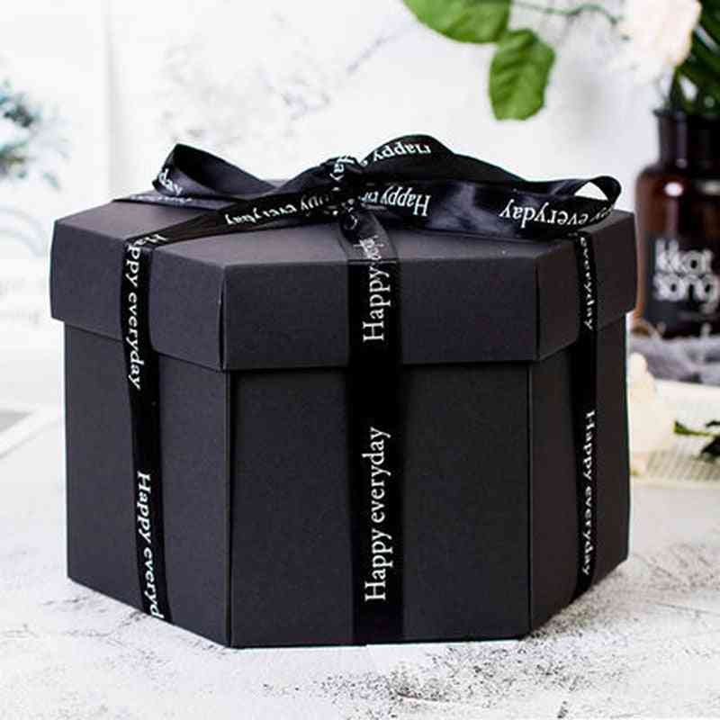 Handmade Surprise Diy Photo Album For Birthday Christmas Anniversary Box