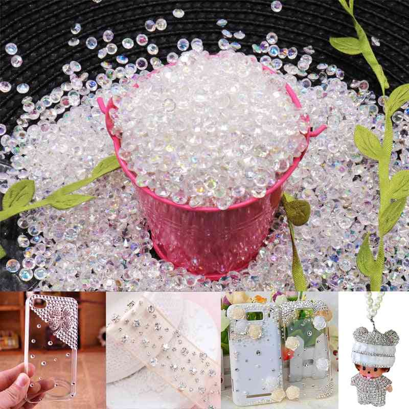 Acrylic Diamond Crystal Bling Transparent Confetti For Wedding Party Decoration