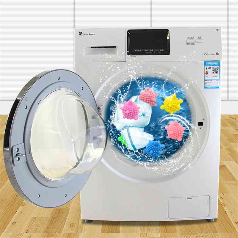 Magic Reusable Laundry Starfish Shape Solid Cleaning Ball 5 Pcs For Household Cleaning Washing Machine, Clothes Softener