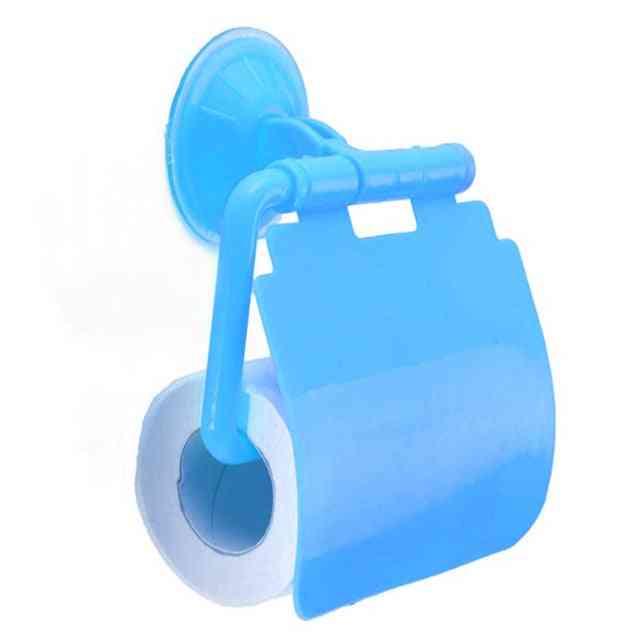 Waterproof, Plastic, Wall Mounted- Toilet Paper Roll Holder