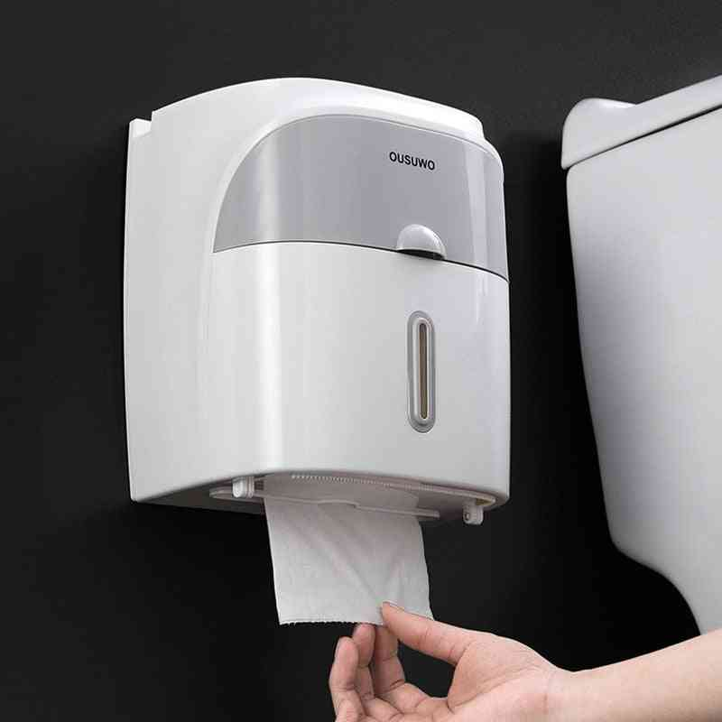 360° Three-dimensional, Waterproof And Wall Mounted Toilet Paper Holder
