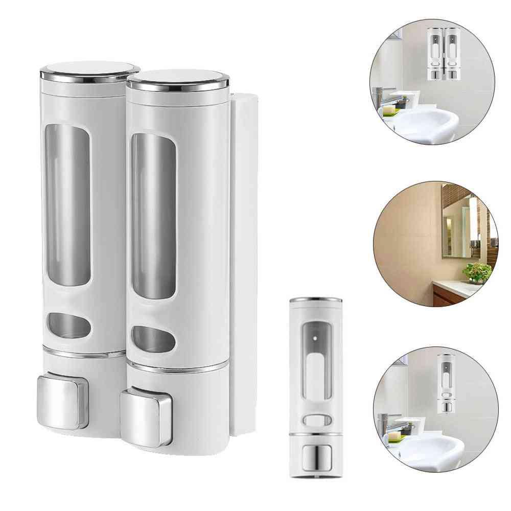 Modern, Transparent Liquid Soap Dispenser