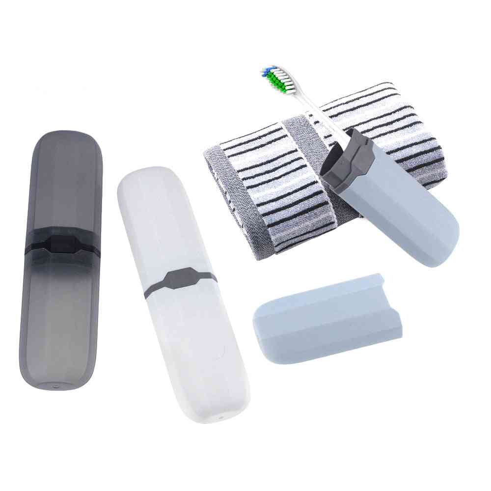 Antibacterial, Portable Toothbrush Box For Travelling