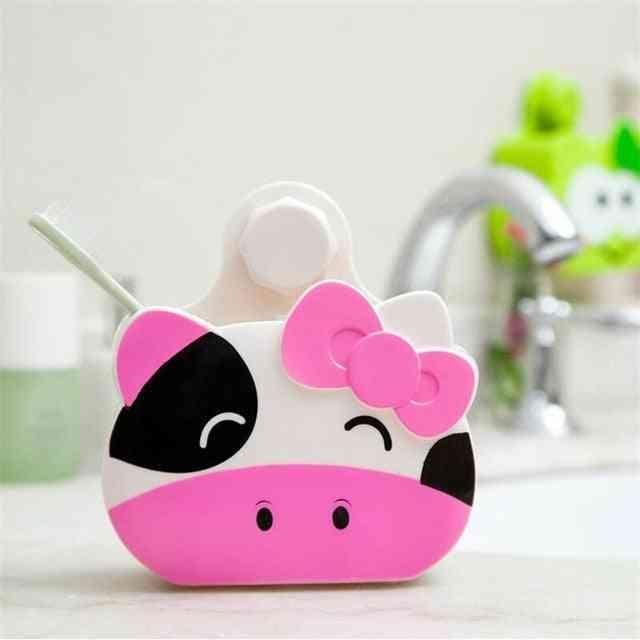 Creative Design, Toothbrush Holder And Hooks Bathroom