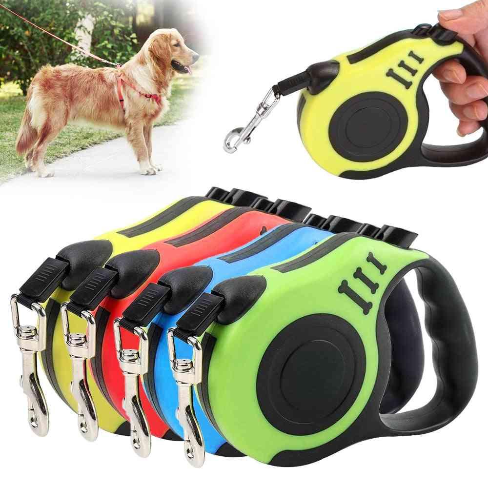 Leash Automatic, Retractable Nylon - Lead Extending For Dog