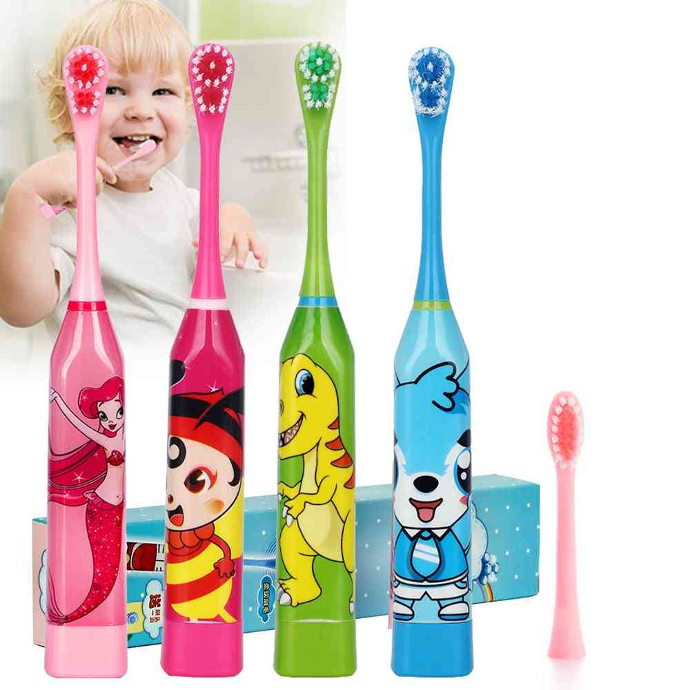 Electric Toothbrush For With Double-sided - Soft Replacement Heads