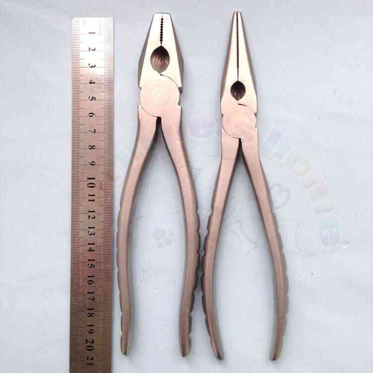 Flat Nose Pliers Bone Forcep Pin And Wire Cutter
