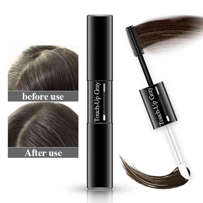 Temporary Hair Dye 2 In 1 Applicator - Hair Color Brush And Comb Hair Color Wax Mascara Dye Cream