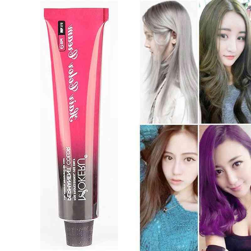 Hair Color Permanent Hair Dye Unisex Cream