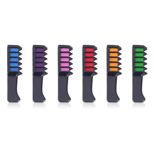 Non Toxic, Hair Color Comb- Temporary Dye