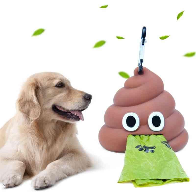 Outdoor Portable Waste Bag Dispenser Carrier - Dog Poop Bag Holder Storage Box