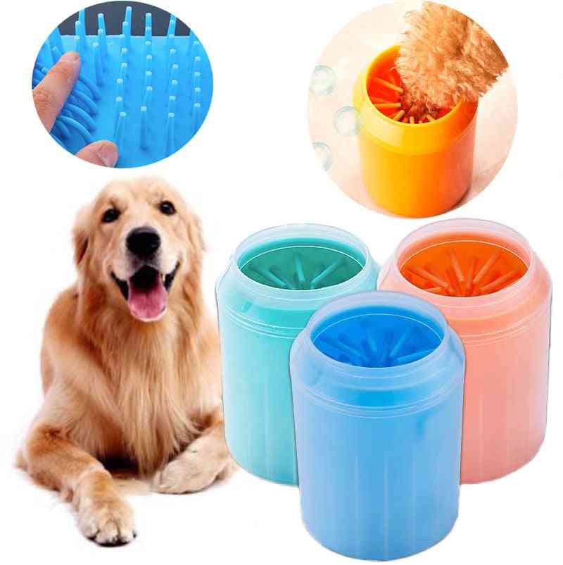 Dogs Paw Cleaner Foot Washer Brushes Super Cups - Pets Foot Mini Cleaning Brush Wash Cup