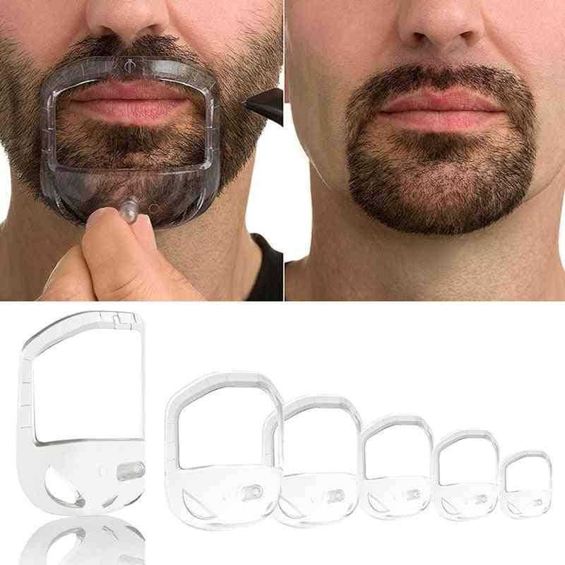 Men Beard Styling Tool - Goatee Shaving Template