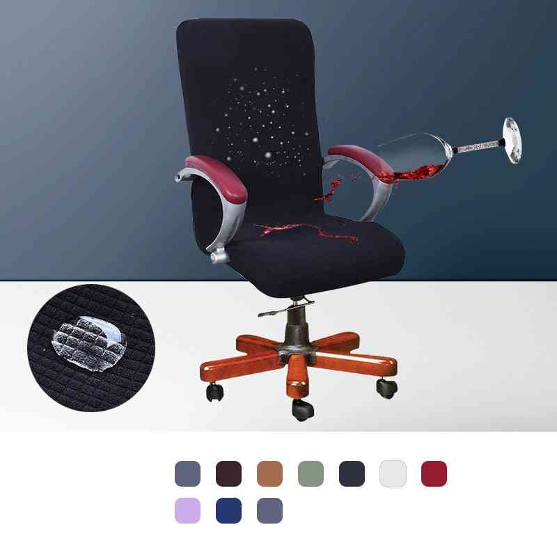 Elastic Fabric, Modern Spandex Cover For Computer & Office Chair