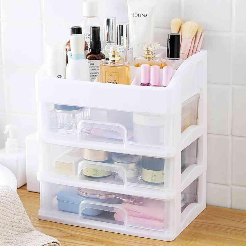 Makeup Organizer Drawers - Cosmetic Storage Box