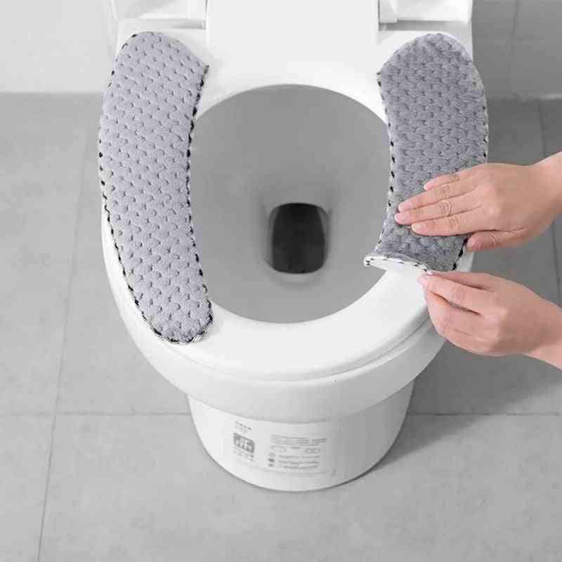 Nordic, Winter Thick Toilet Seat Covers -washable