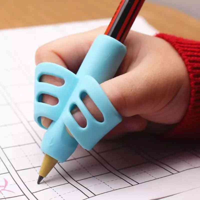 Two Finger Pencil Holder For Kids Writing Learning