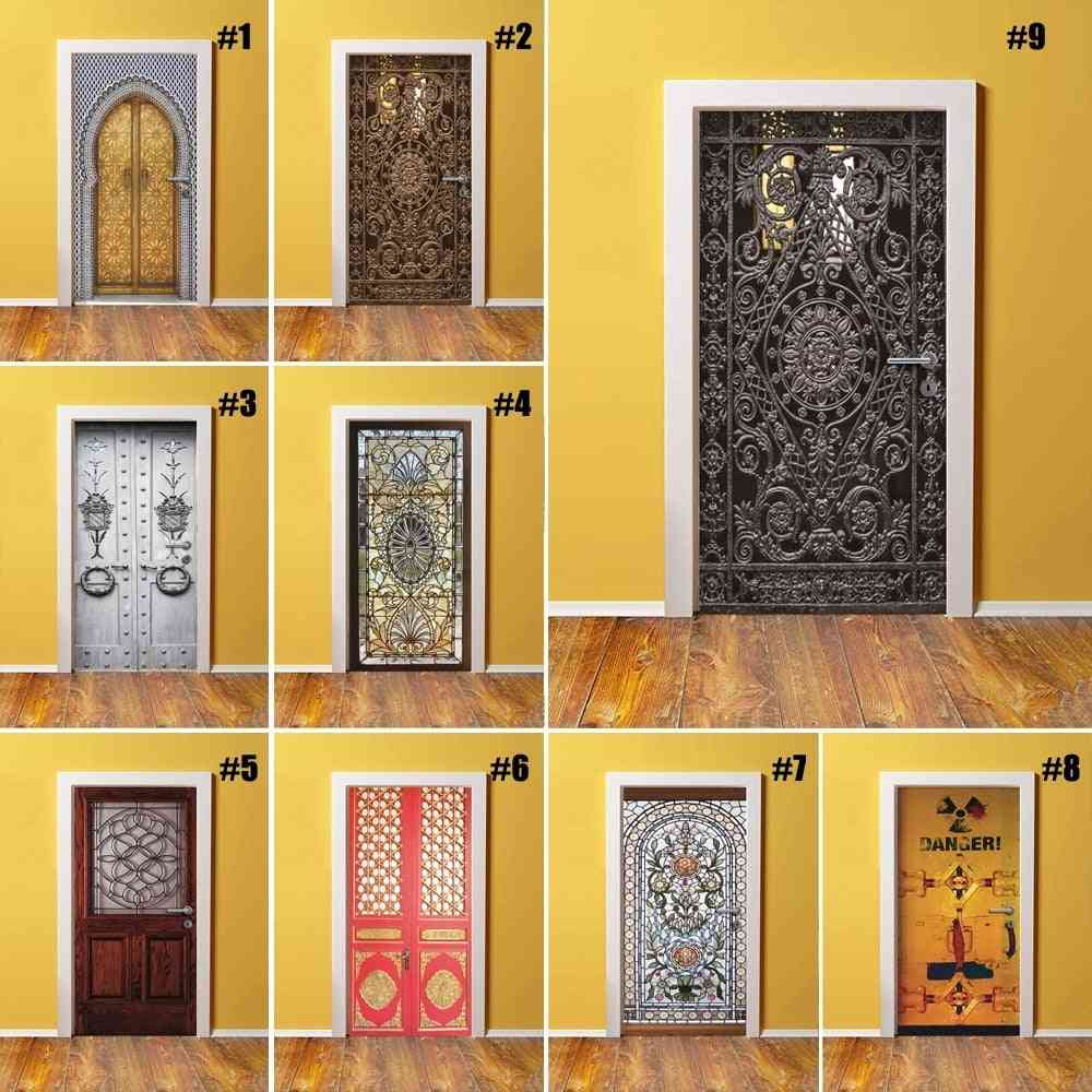 3d Print Environmental - Protection & Self Adhesive Art Sticker For Bedroom