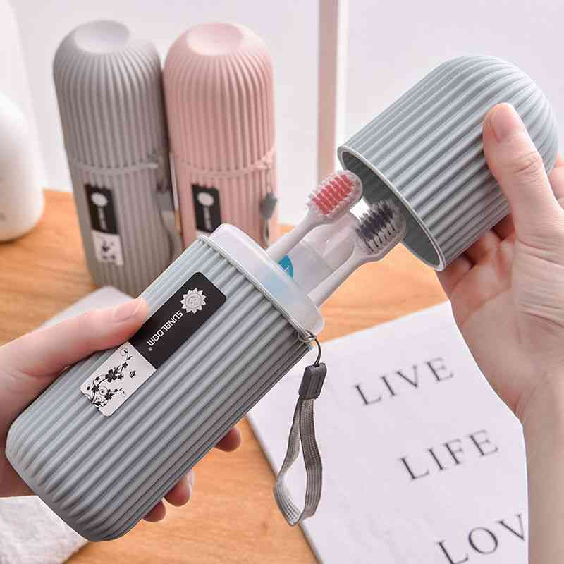 Portable Travel, Camping Toothbrush Holder, Storage Case,box, Cover